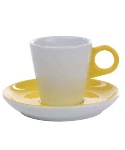 Cappuccino kop 20 cl. - Color Me! Yellow