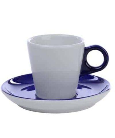 Cappuccino kop 20 cl. Kobalt Blue