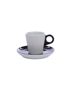 Cappuccino kop 20 cl. - Color Me! Black