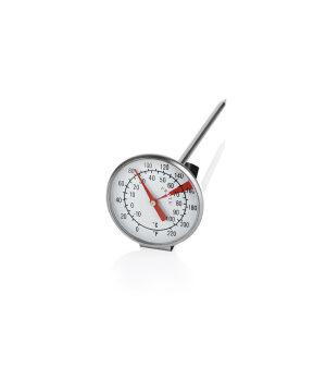 Mælkeskum termometer
